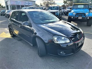 2009 Volkswagen Golf V MY09 GTI DSG Black 6 Speed Sports Automatic Dual Clutch Hatchback.