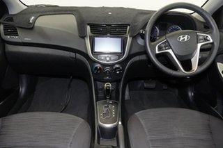 2018 Hyundai Accent RB6 MY18 Sport Blue Lagoon 6 Speed Sports Automatic Sedan