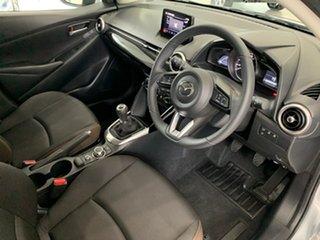 2021 Mazda 2 DJ2HA6 G15 SKYACTIV-MT Pure Sonic Silver 6 Speed Manual Hatchback