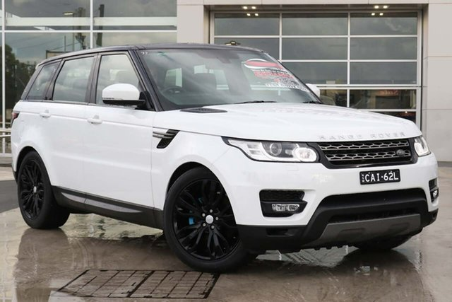 Used Land Rover Range Rover Sport L494 16MY SE Liverpool, 2016 Land Rover Range Rover Sport L494 16MY SE Fuji White 8 Speed Sports Automatic Wagon
