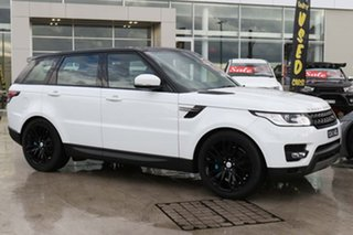 2016 Land Rover Range Rover Sport L494 16MY SE Fuji White 8 Speed Sports Automatic Wagon.