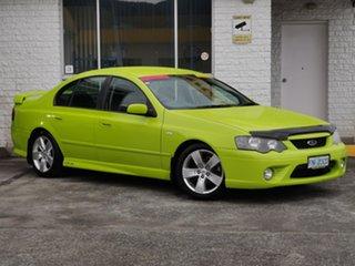 2007 Ford Falcon BF Mk II XR6 Green 6 Speed Sports Automatic Sedan.