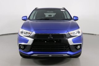 2017 Mitsubishi ASX XC MY17 LS (2WD) Blue Continuous Variable Wagon.