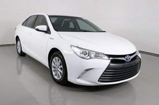 2016 Toyota Camry AVV50R MY16 Altise Hybrid White Continuous Variable Sedan.