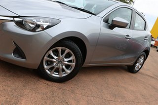 2014 Mazda 2 DJ Maxx Silver 6 Speed Manual Hatchback.
