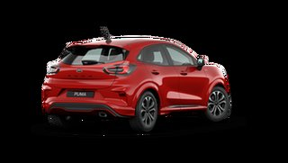 2021 Ford Puma JK ST-Line Fantastic Red 7 Speed Automatic.