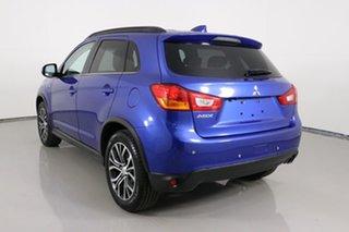2017 Mitsubishi ASX XC MY17 LS (2WD) Blue Continuous Variable Wagon