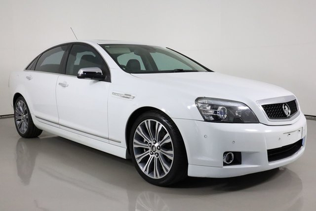 Used Holden Caprice WN V Bentley, 2013 Holden Caprice WN V White 6 Speed Auto Active Sequential Sedan