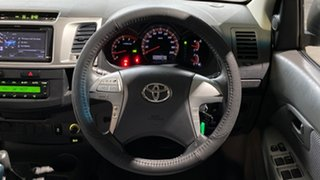 2012 Toyota Hilux KUN26R MY12 SR5 Double Cab Gold 4 Speed Automatic Utility