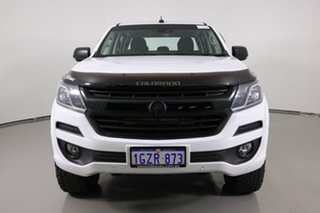 2017 Holden Colorado RG MY17 LTZ (4x4) White 6 Speed Automatic Crew Cab Pickup.