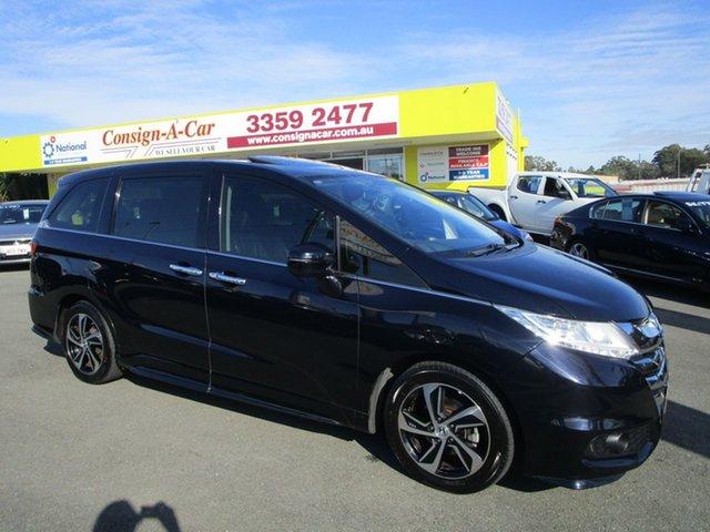 Used Honda Odyssey RC MY16 VTi-L Kedron, 2016 Honda Odyssey RC MY16 VTi-L Black 7 Speed Constant Variable Wagon