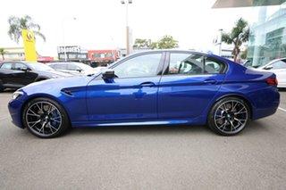 2020 BMW M5 F90 Competition LCI Marina Blue 8 Speed Auto Steptronic Sport Sedan