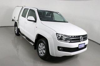 2013 Volkswagen Amarok 2H MY13 TDI420 (4x4) White 8 Speed Automatic Dual Cab Chassis