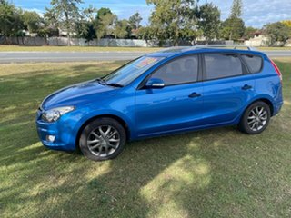 2011 Hyundai i30 FD MY11 Sportswagon cw Wagon Blue 4 Speed Automatic Wagon