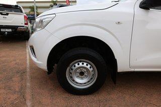 2015 Nissan Navara NP300 D23 DX (4x2) White 7 Speed Automatic Double Cab Utility.