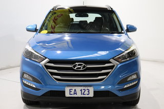 2017 Hyundai Tucson TL MY18 Active X 2WD Blue 6 Speed Sports Automatic Wagon.