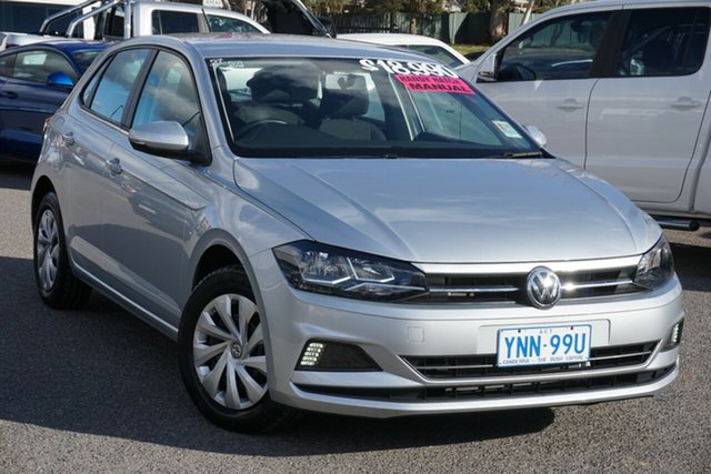 Used Volkswagen Polo AW MY20 70TSI Trendline Phillip, 2019 Volkswagen Polo AW MY20 70TSI Trendline Reflex Silver 5 Speed Manual Hatchback
