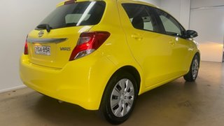 2015 Toyota Yaris NCP130R MY15 Ascent Yellow 5 Speed Manual Hatchback.