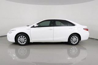 2016 Toyota Camry AVV50R MY16 Altise Hybrid White Continuous Variable Sedan