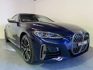 2020 BMW 4 Series G22 M440i Steptronic AWD xDrive Tanzanite Blue 8 Speed Sports Automatic Coupe.
