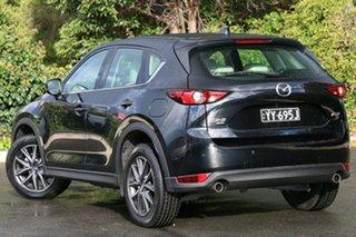 2018 Mazda CX-5 KF4WLA GT SKYACTIV-Drive i-ACTIV AWD Jet Black 6 Speed Sports Automatic Wagon.