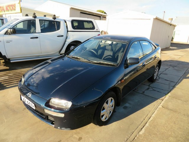 Used Mazda 323 Astina Morphett Vale, 1997 Mazda 323 Astina Green 5 Speed Manual Hardtop