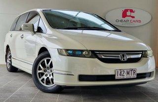 2007 Honda Odyssey 3rd Gen MY07 Luxury White 5 Speed Sports Automatic Wagon.