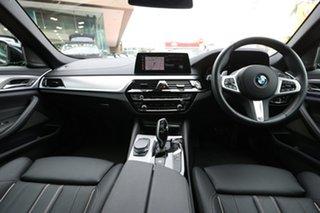 2020 BMW 5 Series G30 520i Steptronic M Sport Black Sapphire 8 Speed Sports Automatic Sedan