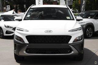 2021 Hyundai Kona Os.v4 MY21 Elite 2WD White 8 Speed Constant Variable Wagon.