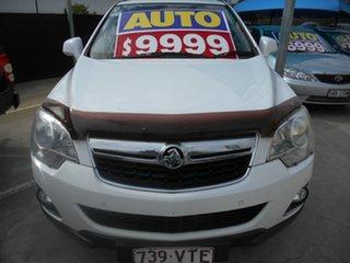 2015 Holden Captiva CG MY15 5 AWD LT White 6 Speed Sports Automatic Wagon.