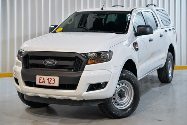 Used Ford Ranger PX MkII XL Plus Hendra, 2017 Ford Ranger PX MkII XL Plus White 6 Speed Sports Automatic Cab Chassis