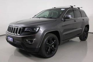 2014 Jeep Grand Cherokee WK MY15 Blackhawk (4x4) Grey 8 Speed Automatic Wagon.