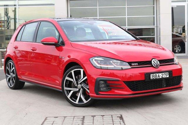 Used Volkswagen Golf 7.5 MY19 GTI DSG Liverpool, 2018 Volkswagen Golf 7.5 MY19 GTI DSG Tornado Red 7 Speed Sports Automatic Dual Clutch Hatchback