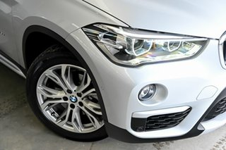 2017 BMW X1 F48 sDrive18d Steptronic Silver 8 Speed Sports Automatic Wagon.