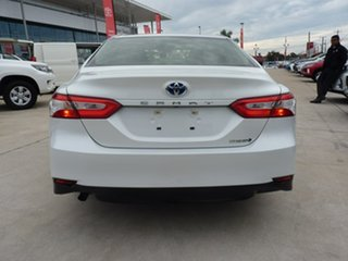 2019 Toyota Camry AXVH71R Ascent Frosted White 6 Speed Constant Variable Sedan Hybrid