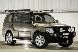2013 Mitsubishi Pajero NW MY13 GLX-R Brown 5 Speed Sports Automatic Wagon.