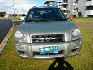 2008 Hyundai Tucson MY07 SX Silver 4 Speed Automatic Wagon.