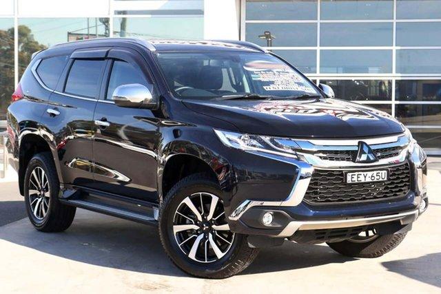 Used Mitsubishi Pajero Sport QE MY19 GLS Liverpool, 2019 Mitsubishi Pajero Sport QE MY19 GLS Dark Blue 8 Speed Sports Automatic Wagon