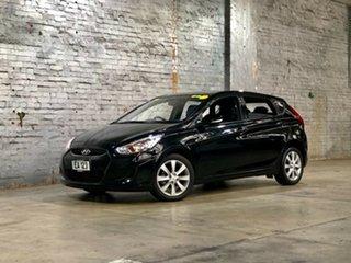2017 Hyundai Accent RB5 MY17 Sport Black 6 Speed Sports Automatic Hatchback.