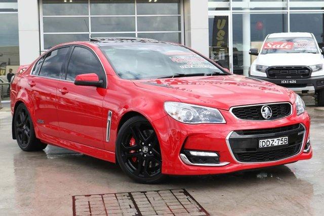 Used Holden Commodore VF II MY16 SS V Redline Liverpool, 2016 Holden Commodore VF II MY16 SS V Redline Red Hot 6 Speed Sports Automatic Sedan