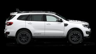 2021 Ford Everest UA II Sport Arctic White Automatic.