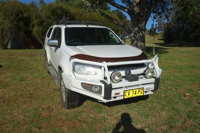 Used Holden Colorado RG MY14 LTZ Crew Cab East Maitland, 2014 Holden Colorado RG MY14 LTZ Crew Cab White 6 Speed Sports Automatic Utility