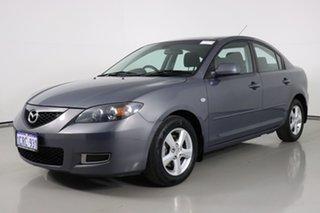 2007 Mazda 3 BK MY06 Upgrade Maxx Grey 5 Speed Manual Sedan.