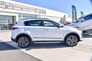 2018 Kia Sportage QL MY19 GT-Line AWD Snow White Pearl 6 Speed Sports Automatic Wagon.