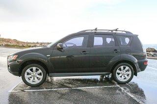 2011 Mitsubishi Outlander ZH MY11 Activ 2WD Black 6 Speed Constant Variable Wagon