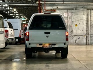 2005 Holden Rodeo RA MY05 LX Crew Cab White 5 Speed Manual Utility
