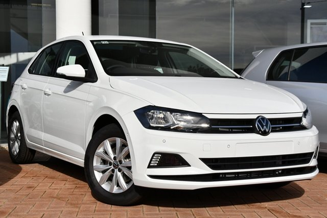 Demo Volkswagen Polo AW MY21 85TSI DSG Comfortline Victoria Park, 2021 Volkswagen Polo AW MY21 85TSI DSG Comfortline Pure White 7 Speed Sports Automatic Dual Clutch