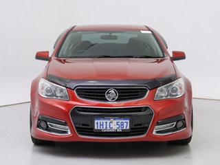2015 Holden Commodore VF MY15 SV6 Red 6 Speed Automatic Sedan.