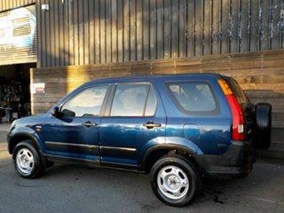 2002 Honda CR-V RD MY2002 4WD Blue 5 Speed Manual Wagon