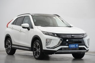 2019 Mitsubishi Eclipse Cross YA MY19 Exceed 2WD White 8 Speed Constant Variable Wagon